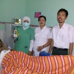 Staff and recovery patient_Liunkendage Hospital_Indonesia