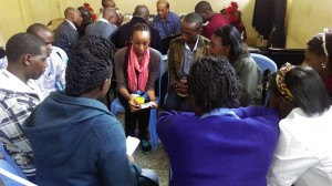 2015_June_Kenya_Embu workshop_Phoebe Khagame_demonstrating the oximeter in training session