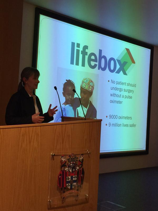 2015_May_RCOA_Patient Safety Perioperative Practice_Isabeau Walker presenting on Lifebox