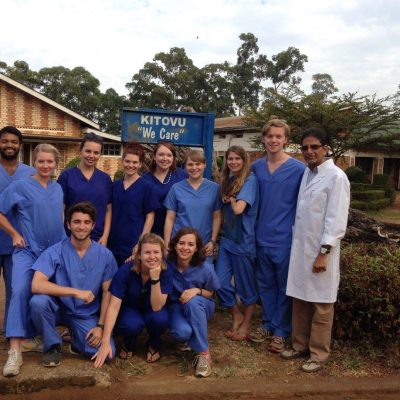 Uganda, safer anaesthesia - student experience