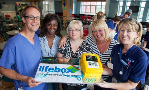 Hold your own bake-off for Lifebox