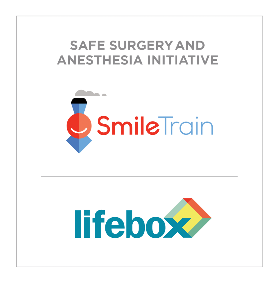 Smile Train-Lifebox Safe Surgery and Anesthesia Initiative Logo