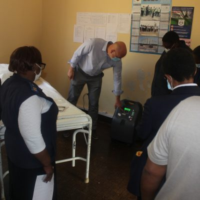 Oximetry, Oxygen and COVID-19 in Lesotho: an interview with Dr. Eric McCollum