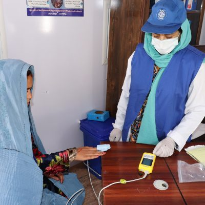 SUPPORTING COVID-19 CARE IN AFGHANISTAN
