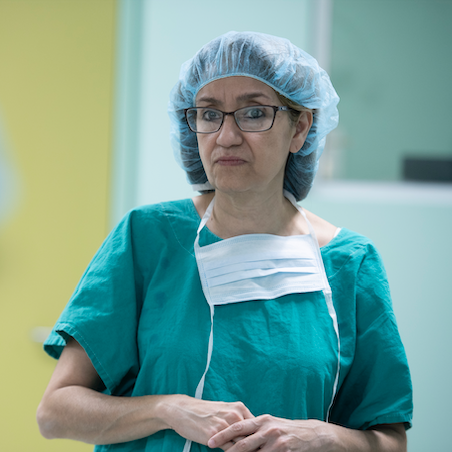 Dr. Susana Abrego, pediatric anesthesiologist and Lifebox Board Member